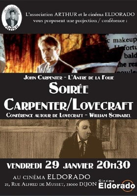 Soirée Lovecraft - Carpenter - Schnabel